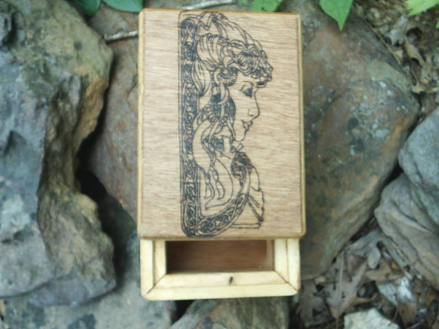 5 X 7 X 3 1/2 inch box for magickal protection